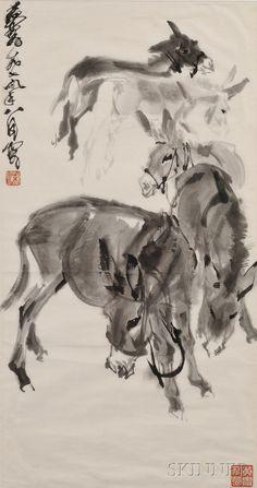 HUANG ZHOU http://www.widewalls.ch/artist/huang-zhou/ #calligraphy #painting
