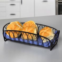Bring restaurant-quality flair to home entertaining with this Spectrum Diversified Twist Bread Basket . The open steel design on this bread basket means. Cheese Platter Board, Serving Bowl Set, Star Food, Vegetable Bowl, Mini Desserts, Freshly Baked, Bread Baking, Baked Goods, Healthy Eating
