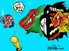 2014 WC, Group G.