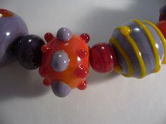 85B Collier Flonche orange detail | Flickr: partage de photos!