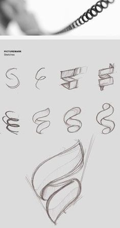 Drawing Hair Techniques Visual Identity for Sabienzia Technologies. Identity Design, Visual Identity, Logo Luxury, Schrift Design, Typographie Inspiration, Logo Sketches, Design Graphique, Zentangle Patterns, Zentangles