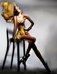 Duchess Dior: Karlie Kloss and Models by Nick Knight for Garage S/S 2014