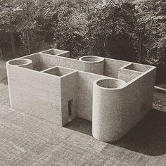 theeyestheysee Per Kirkeby, Brick Sculpture and Architecture (Cont'd) Brick Works, Brick Architecture, Interior Architecture, Architectural Sculpture, 3d Modelle, Brutalist, Land Art, Art Plastique, Finding Nemo