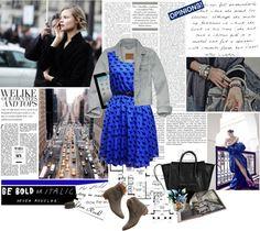 """Zebra on dress"" by elly3 ❤ liked on Polyvore"