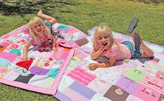 Baby Clothes Quilts | Memory Quilts | Jelly Bean Quilts