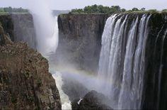 Zambezi River, Zambia And Mozambique