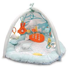 Baby Activity Gym, Activity Toys, Crib Toys, Baby Toys, Tactile Stimulation, Rock A Bye Baby, Play Gym, Developmental Toys, Baby Play