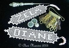 Ravelry: Name Bookmark in Filet Crochet pattern by Cheri Mancini Crochet Bookmark Pattern, Crochet Bookmarks, Crochet Cross, Crochet Chart, Thread Crochet, Crochet Motif, Crochet Stitches, Free Crochet, Knit Crochet
