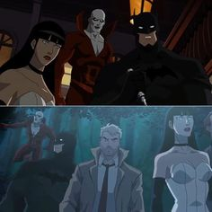 Justice League Dark is expected to arrive on blu-ray, DVD and VOD this Fall. Matt Ryan voices Constantine, Jason O'Mara continues his work as the voice of Batman, Camilla Luddington voices Zatanna, Nicholas Turturro is Boston Brand and Ray Chase voices Et