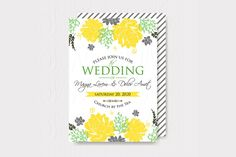 Wedding Shower Invitation by Ivan Negin on Creative Market