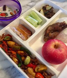Places To Eat, Lunch Box, Husband, Beef, Asian, Drink, Fruit, Food, Meat