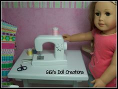 GiGi's Doll Creations: tutorial on making doll sewing machine