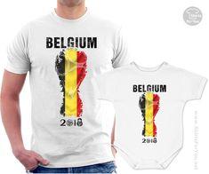 3a26321b1 Belgium Football Fan Matching T-Shirt and Onesie