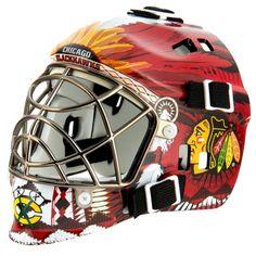 Franklin Sports NHL League Logo Chicago Blackhawks Mini Goalie Mask NHL http://www.amazon.com/dp/B001OOUT0C/ref=cm_sw_r_pi_dp_RiDHub0EXN0D6