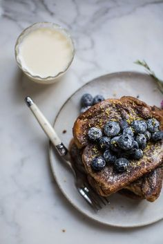 "delta-breezes: ""London Fog French Toast w/Sugared Blueberries Brunch Recipes, Breakfast Recipes, Brunch Food, Breakfast Sandwiches, Tostadas, Fluffy French Toast, Breakfast Time, Mexican Breakfast, Healthy Recipes"