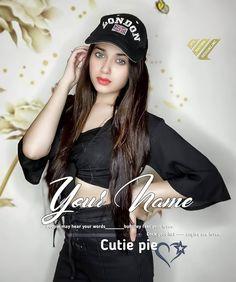 Write Name On Jannat Zubair Wallpaper Stylish Girls Photos, Girl Photos, Smart Girls, Cute Girls, Girls Black Dress, Dress Girl, Teenage Girl Photography, Pics For Dp, Trending Photos