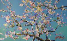 almond blossoms van gogh - Google Search
