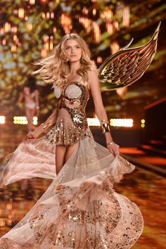 These Are The 44 Models Walking In The Victoria's Secret Fashion Show (2015). Shown: Lily Donaldson