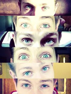 James McVey << His eyes are the best thing since blueberry muffins.