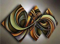 Pintura al óleo arte Moderno Abstracto Decoración de pared de tela (Sin marco) 4PC-1021 | Arte, Directo del artista, Pinturas | eBay!