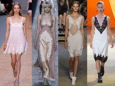 Tendencia del 2016: vestidos lenceros o camisones