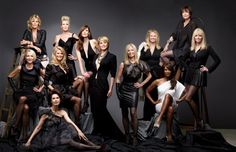 Still of Isabella Rossellini, Christie Brinkley, Paulina Porizkova, Carmen Dell'Orefice, Beverly Johnson, Cheryl Tiegs and Christy Turlington in About Face: Supermodels Then and Now