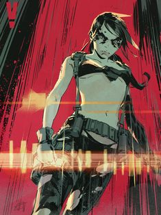 Metal Gear Solid Quiet, Metal Gear V, Metal Gear Games, Metal Gear Solid Series, Character Design References, Character Art, Character Portraits, Cry Anime, Anime Art