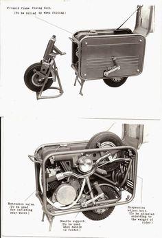 Valmobile Foldaway Motor Scooter