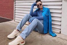 77c43b5da 8 melhores imagens de Looks com mule | Ausgestellte jeans, Mode ...
