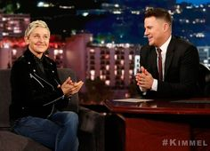 Channing Tatum Says His Dad Found Out Actor Was a Stripper After Seeing Son Give Ellen DeGeneres a Lap Dance on TV
