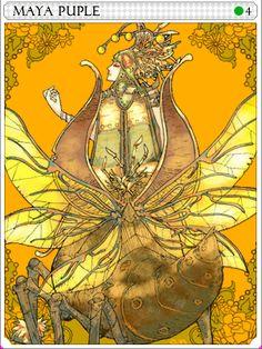 Maya Purple Card