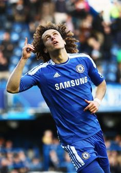 David Luiz - Chelsea 3-0 Bolton. Let's bring all glory to the One who deserves it. :) http://www.fifafootballshirts.co.uk/chelsea-shirt/chelsea-2014-15-david-luiz-home-football-shirt.html