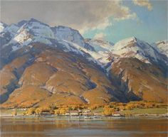 Here's a blog about artist Scott Christensen. I've greatly admired Scott's work over the years and his willingness to share his knowledge and experience with others. If you're not familiar with his beautiful landscape paintings, I would highly recommend taking a look at his website at http://www.christensenstudio.com/.