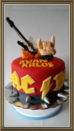 ACDC cake.