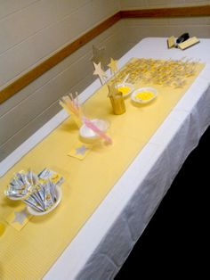 Craft bar for Recognition Night; Activity Days