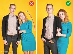 We're now envious of ourselves when we look at our photos. poses 10 Tricks to Help Any Couple Become as Photogenic as Hollywood Stars