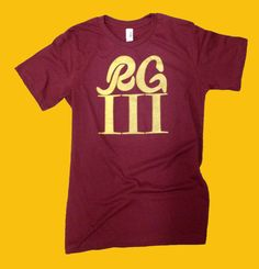 RG3 Redskins Shirt