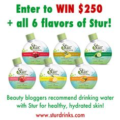 Win It! Stur and $250 via @15 Minute Beauty