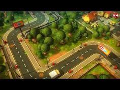 Cartoon Town - Unity 3d - YouTube
