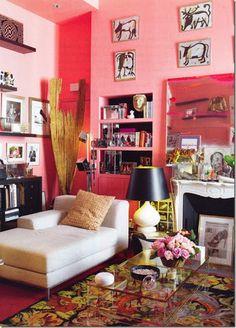 Ines de la Fressange's home, Paris