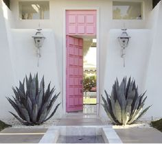 Colorful Doors, Inside and Out