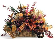 Unique Floral Arrangement Designs | Maui Dried Flowers - Dried Arrangements