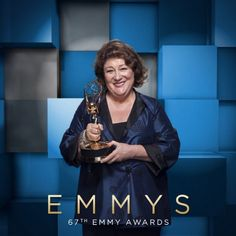 Guest Actress, Drama winner is #MargoMartindale (@theamericansfx), beaming at #EmmysArts!  #cinemagraph by @FlixelPhotos