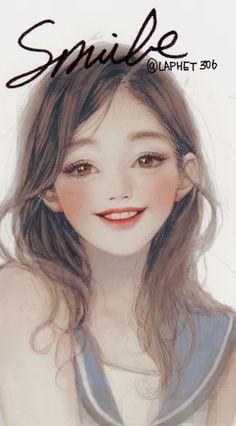 「Smile」/「laphet」のイラスト [pixiv]