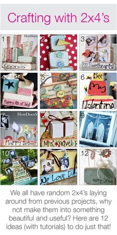 Woodcraft Ideas | It's an easy nautical wood craft idea for a rainy afternoon.
