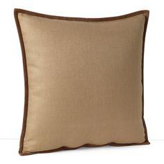 "Ralph Lauren Basket Weave Throw Pillow, 18"" x 18"""