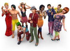The sims 4 getting it in about two hours!!!!