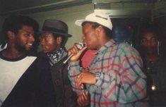 Tippa Irie from the legendary UK reggae soundsystem, Saxon - back in da day!