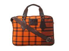 Vivienne Westwood Man Tartan Laptop Bag