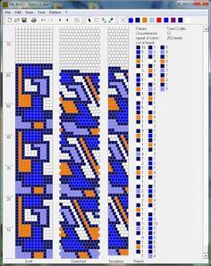 Wzory na drutach wici-shnurikov 2   biser.info - wszystko o koralików i prac koralikami